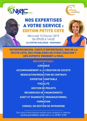 NOS EXPERTISES A VOTRE SERVICE » AUX ENTREPRENEURS DE LA PETITE COTE»