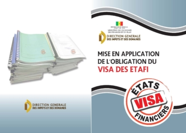 MISE EN APPLICATION DE L'OBLIGATION DE VISA